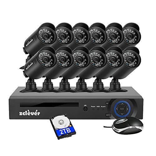 Zclever Security Camera System for Home