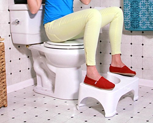 "Step and Go Toilet Stool 7"" New - Proper Toilet Posture for Healthier Results"