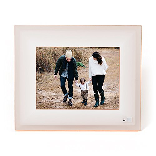 Aura Smart Photo Frame – Beautifully Designed, With Super Easy To Use Connected App