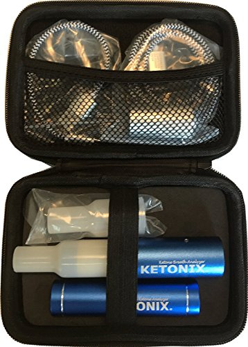 Ketonix Breath Ketone Analyzer - Bluetooth connection to your Smart Device, and Battery Pack