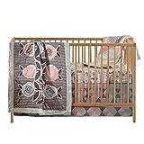 Living Textiles 4 Pc Set - Sparrow, Multi