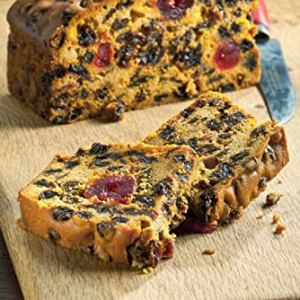 Handmade Genoa Loaf | Moist Fruit Cake with Generous Chunks of Cherries Sultana Raisons & Cinnamon Spice Flavour Serves 8 | The English Cake Company 51UvkQBxVaL
