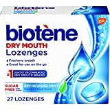 Biotene Dry Mouth Lozenges, Refreshing Mint, 27 Count (Pack of 1)