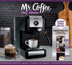 Mr-Coffee-Easy-Maker-Authentic-Pump-Espresso-Machine-6-Piece-ChromeBlack