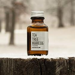 Beardbrand Tea Tree Beard Oil - 1 fl oz  Image 1