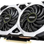 MSI Gaming GeForce GTX 1660 192-Bit HDMI/DP 6GB GDRR5 HDCP Support DirectX 12 Dual Fan VR Ready OC Graphics Card (GTX…