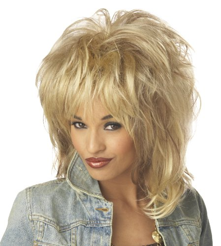 California Costumes Women's Rockin' Soul Blonde Wig, Blonde, One Size