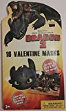 Dreamworks How to Train Your Dragon 2 16 Valentine Masks, Includes Mini Poster