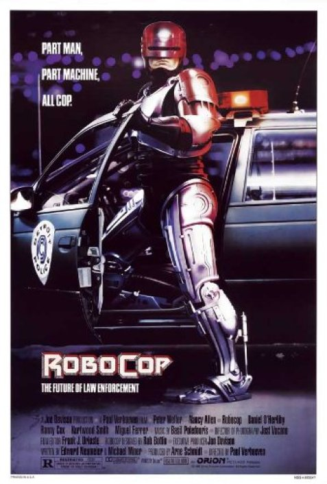 Image result for robocop poster
