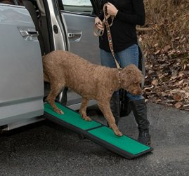 Pet-Gear-Travel-Lite-Bi-Fold-Ramp-for-CatsDogs-LightweightPortable-Safety-Tether-Included-Rubber-Grippers-for-Stability