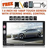 Upgraded 7 Inch Double Din Touch Screen Car...