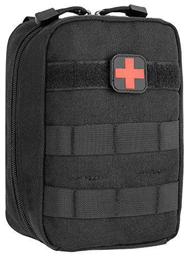JSBelle MOLLE Rip-Away EMT Medical Primeros Auxilios IFAK Blowout Pouch (Solo Bolsa) (Negro)