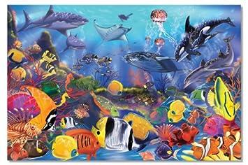 Melissa & Doug Underwater Ocean Floor Puzzle (48 pcs, 2