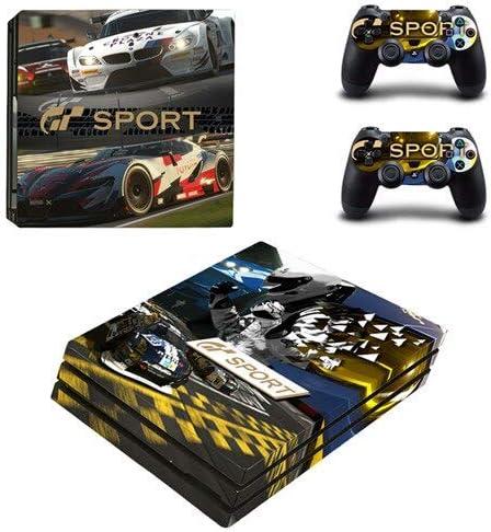 CIVIQ Grand Tourisme Sport GT Sport PS4 Pro Skin Sticker pour Sony Playstation 4 Console et 2 Controllers PS4 Pro Stickers Decal Vinyl