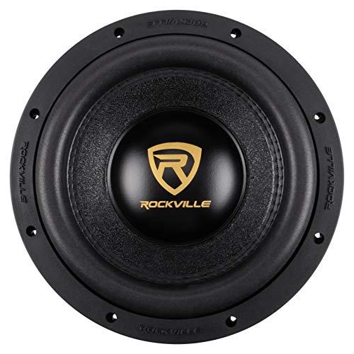 Rockville W10K9D2 10' 3200w Car Audio Subwoofer Dual 2-Ohm Sub CEA Compliant