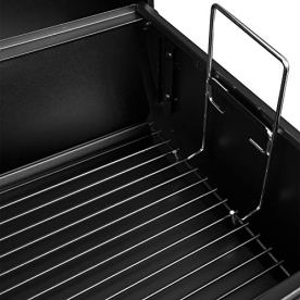 Royal-Gourmet-CC1830F-Charcoal-Grill-with-Offset-Smoker-Black