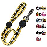 Zoozpets Snoopy Dog Leash - Official Peanuts Licensee | 10 Bright Beautiful Designs | Super-Strong, Safe Dog Leashes for Large Dogs, Medium Dogs, Small Dogs & Puppy Leash | Padded Handle Pet Leash