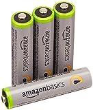 Amazon Basics Baterías recargables Ni-MH de alta capacidad precargadas, 500 ciclos