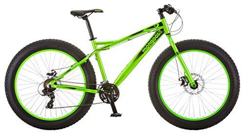 Mongoose Juneau 26' Fat Tire Bicycle Green, Medium Frame Size