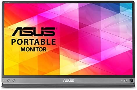 """ASUS ZenScreen 15.6"""" 1080P Portable Monitor (MB16AC) - Full HD, IPS, Eye Care, Foldable Smart Case, Ultra-slim, Lightweight, USB-C Power Delivery, For Laptop, PC, Phone, Console , Black 12"""