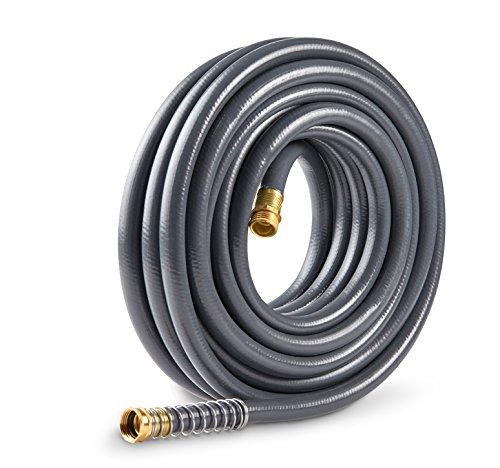 Gilmour 874501-1001 Flexogen Super Duty Garden Hose Gray 5/8 inch x 50 feet, Gray