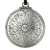 Pentacle of Mercury Talisman Key of Solomon Seal Pendant Hermetic Enochian Kabbalah Pagan Wiccan Jewelry