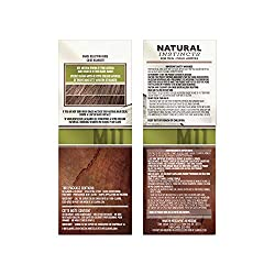 Clairol Natural Instincts Semi-Permanent Hair Color Kit For Men, 3 Pack, M11 Medium Brown Color, Ammonia Free, Long Lasting for 28 Shampoos  Image 3