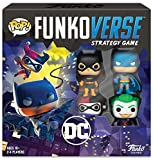 Funkoverse Strategy Board Game: DC Theme Set,  2-4 Players