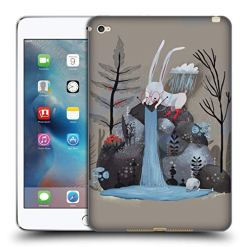 Official Oilikki Rabbit Animal Characters Soft Gel Case Compatible for iPad mini 4