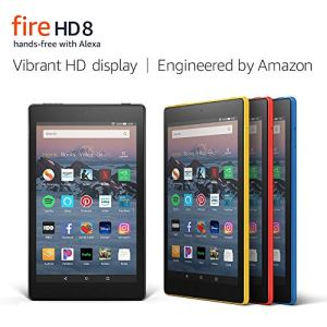 "Fire HD 8 Tablet (8"" HD Display, 16 GB) - Black (Previous Generation - 8th) 5"