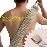 ABURANE Exfoliating Back Scrubber for Shower for Men and Women, Deep Clean & Invigorate Your Skin