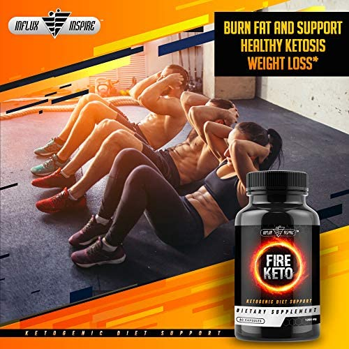 Keto BHB Ketogenic Dietary Supplement Pills - Exogenous Ketone Salt Capsules to Boost Energy and Metabolism - Burn Fat and Support Healthy Ketosis Weight Loss - FIRE Keto - 60 Capsules 6