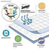 Madison Park Windom Microfiber Down Alternative Stain Resistant Blanket, Full/Queen, Mocha