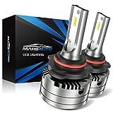 Marsauto 9006 Led Headlight Bulbs Conversion Kit