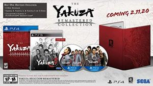 Yakuza Remastered Collection – PlayStation 4