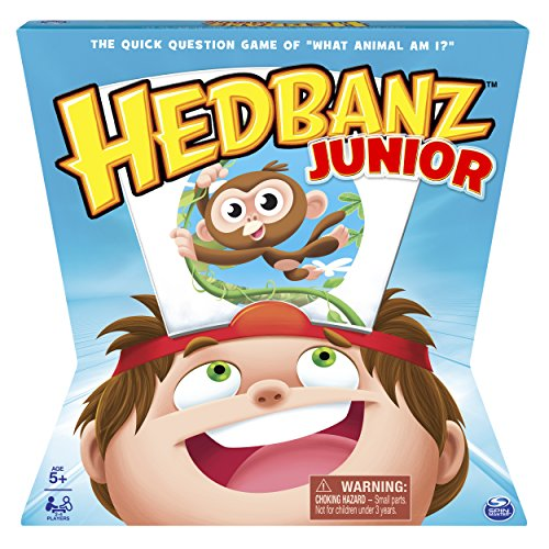 HedBanz – HedBanz Jr. Family Board Game for Kids