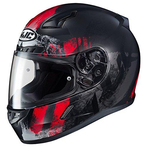 HJC CL-17 Helmet - Arica (MEDIUM) (BLACK/RED)