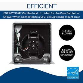 Broan-Nutone-SPK110-Sensonic-Bathroom-Exhaust-Fan-with-Bluetooth-Speaker-ENERGY-STAR-Certified-10-Sones-110-CFM-White-Standard