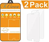 TheCoos [2-Pack] Tempered Glass Screen Protector For Apple iPhone 6 and iPhone 6s