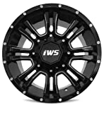 IWS 5007 Wheel Black Finish (18x9 / 5x5)
