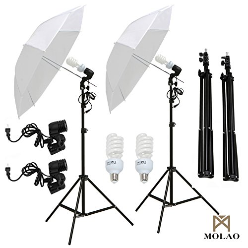 SUNCOO Studio Photography Lighting Kit Including Background Support Stand Kit