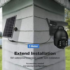 INQMEGA-Security-Camera-OutdoorWireless-WiFi-Pan-Tilt-Spotlight-Solar-Battery-Powered-Motion-Detection-Camera-with-Color-Night-Vision24G-WiFiSecure-CloudSd-Slot-Storage