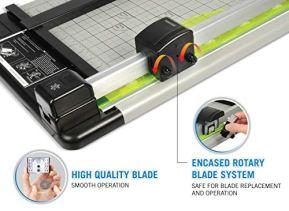 Carl-Heavy-Duty-Rotary-Paper-Trimmer-12inch-blacksilver-CUI12210