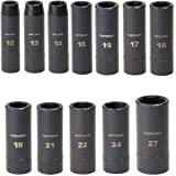 Craftsman 12 Piece Easy Read Deep Impact Socket Set (Metric)