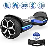 Magic hover 6.5' inch T581Hoverboard, All Terrain Off Road Hoverboard,with Bluetooth Speaker and App-Enabled,...