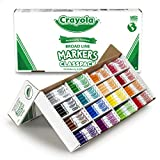Crayola Broad Line Markers Bulk, 16 Bold Colors, Great for Classroom, Educational, All-Purpose Art Tools, 256 Count