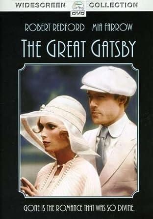 Amazon.com: The Great Gatsby: Robert Redford, Mia Farrow, Bruce ...