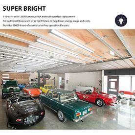 TychoLite-110W-8-Foot-Led-Light-Fixture-Ultra-Slim-8FT-LED-Shop-Lights-for-Garage-No-Glare-12600-Lumens-5000K-Daylight-8-Foot-Flush-Mount-Office-Ceiling-Wraparound-Light-for-Workshop-2-Pack
