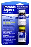 Potable Aqua Water Purification Tablets with PA Plus neutralizing tablets - Portable Drinking Water Treatment for Camping, Emergency Preparedness, Hurricanes, Storms, Survival, and Travel (50 Tablets)