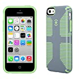 Speck Products CandyShell Grip Case for iPhone 5c (Nickel Grey Sweet Mint Green)